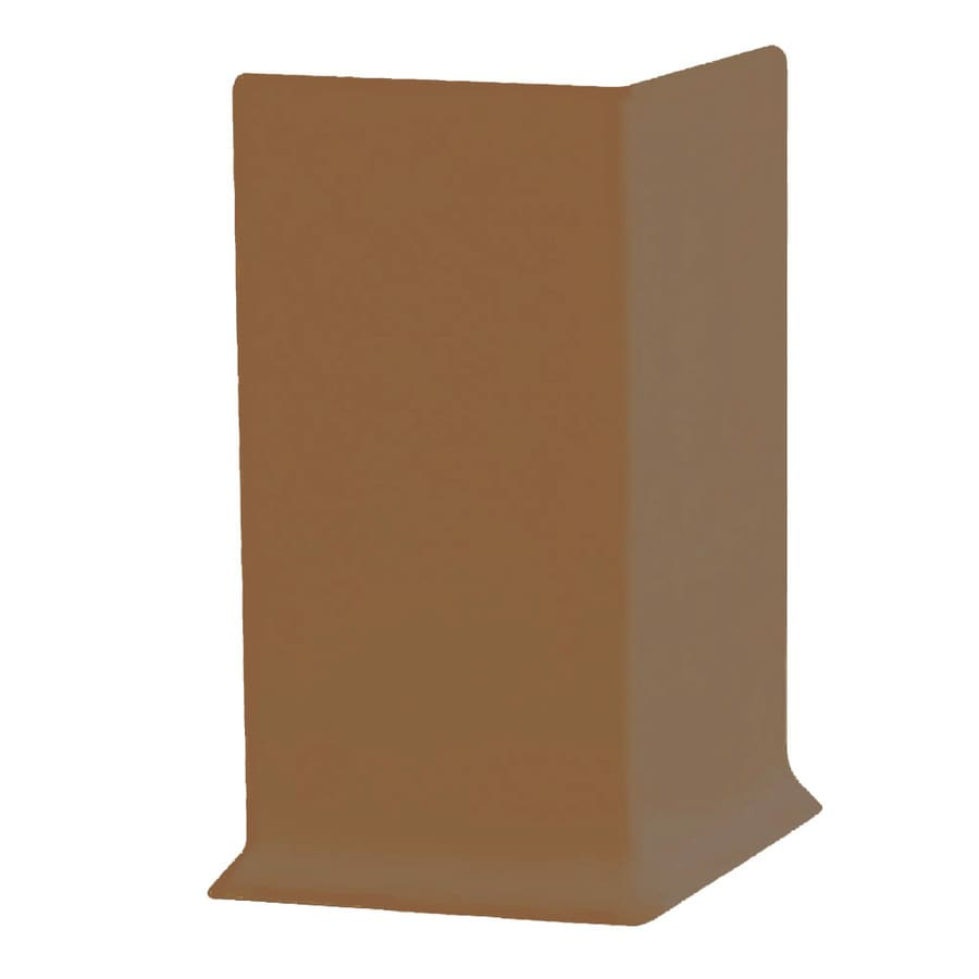 FLEXCO 30-Pack 4-in W x 0.25-ft L Wheat Vinyl Outside Corner Wall Base