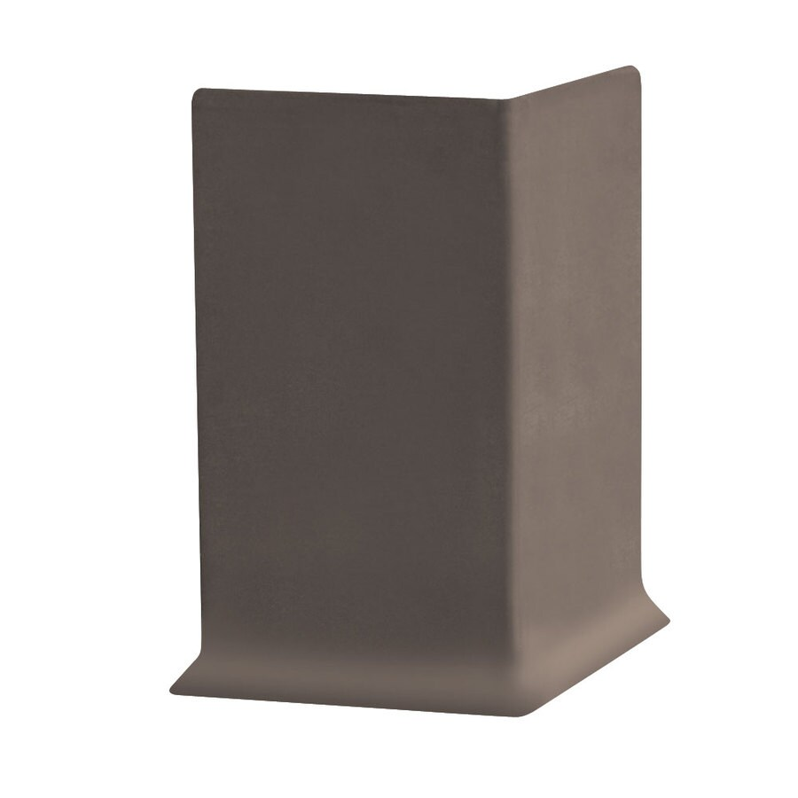 FLEXCO 30-Pack 6-in W x 0.25-ft L Outer Banks Vinyl Outside Corner Wall Base