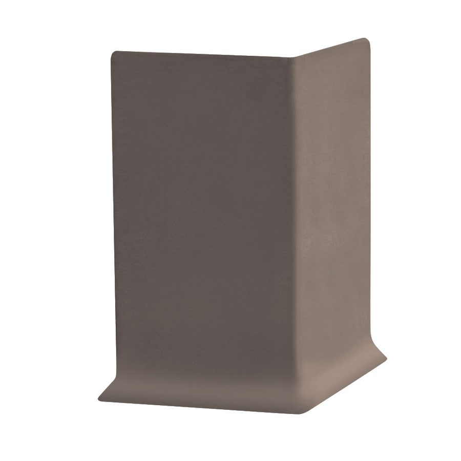 FLEXCO 30-Pack 4-in W x 0.25-ft L Driftwood Vinyl Outside Corner Wall Base