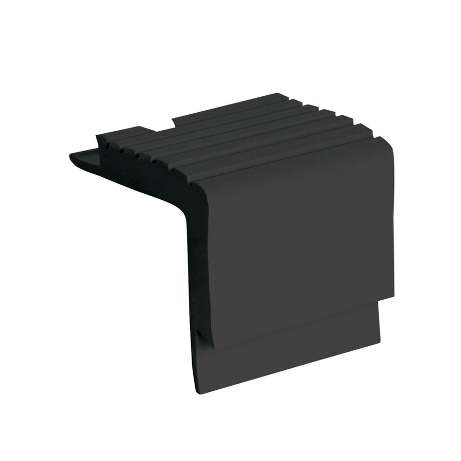 FLEXCO 2-in x 144-in Black Dahlia Vinyl Stair Nosing