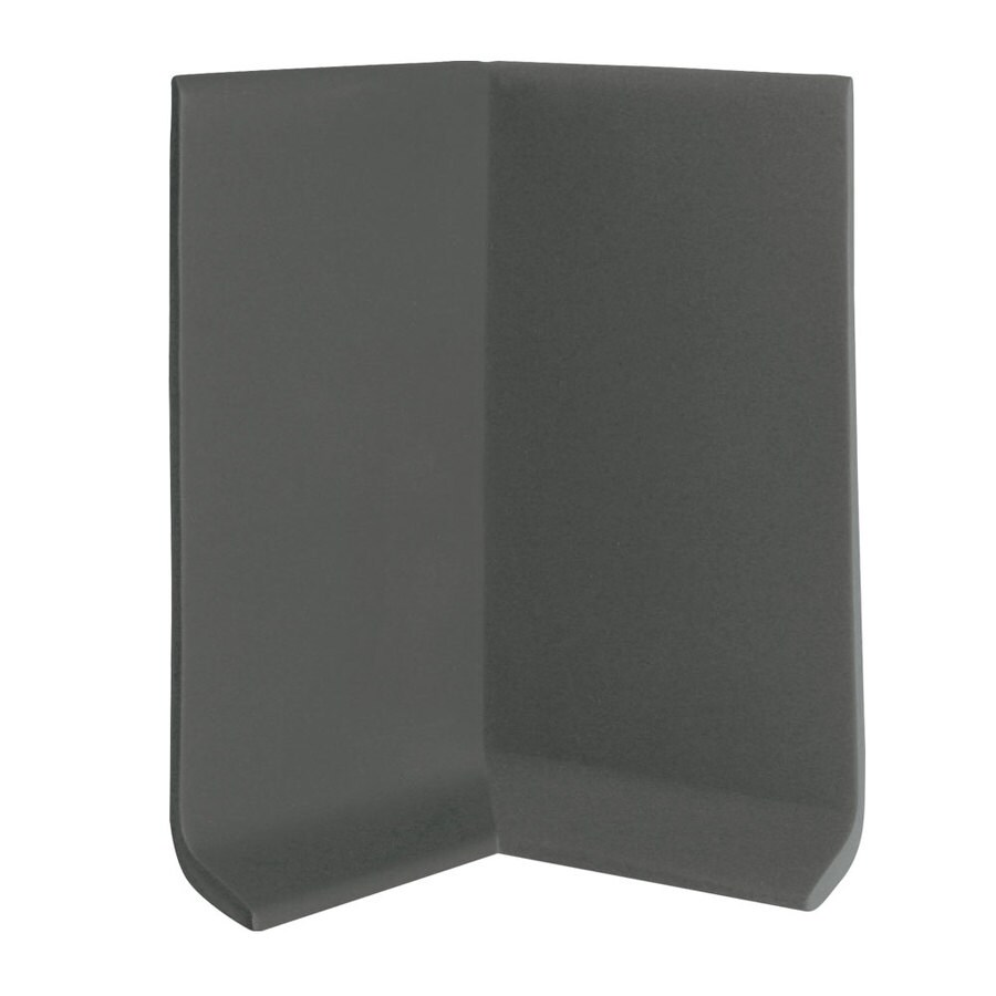 FLEXCO 30-Pack 4-in W x 0.25-ft L Umber Vinyl Inside Corner Wall Base