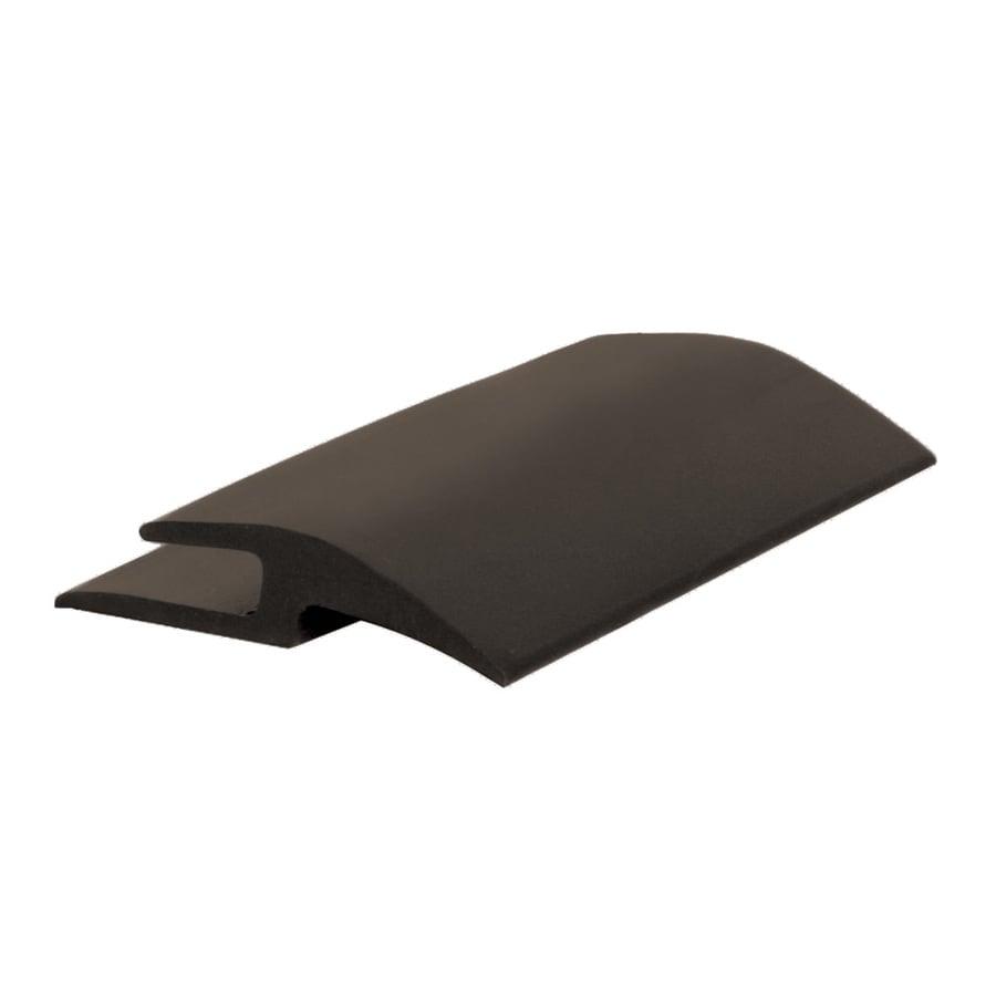 FLEXCO Carpet Joiner 1.406-in x 144-in Black Brown Vinyl-To-carpet Floor Transition Strip