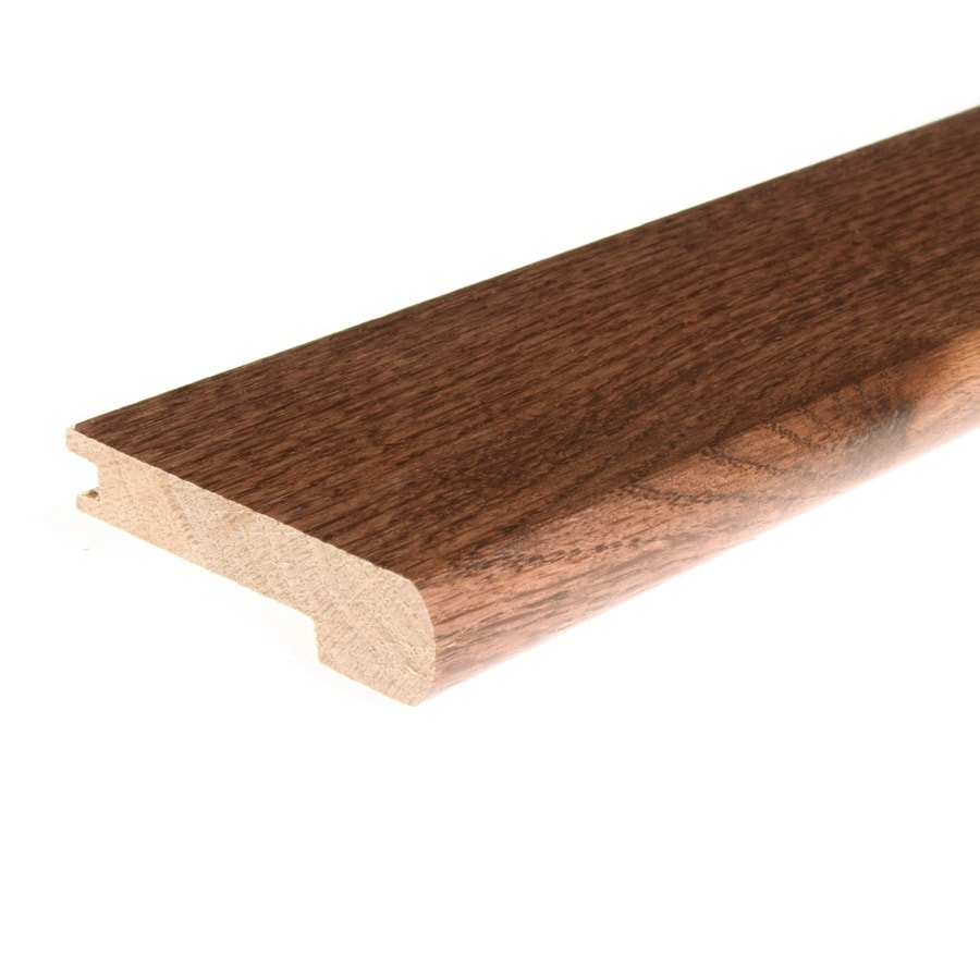 FLEXCO 2.75-in x 78-in Spice Oak Stair Nose Floor Moulding