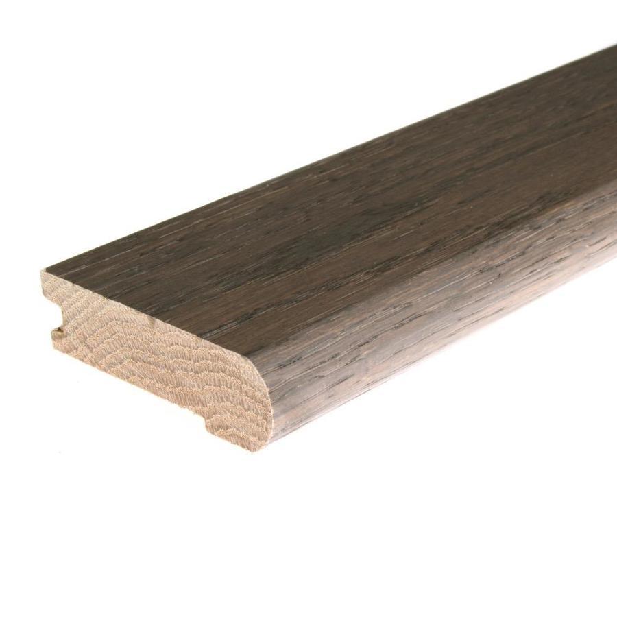 FLEXCO 2.75-in x 78-in Shale Oak Stair Nose Floor Moulding