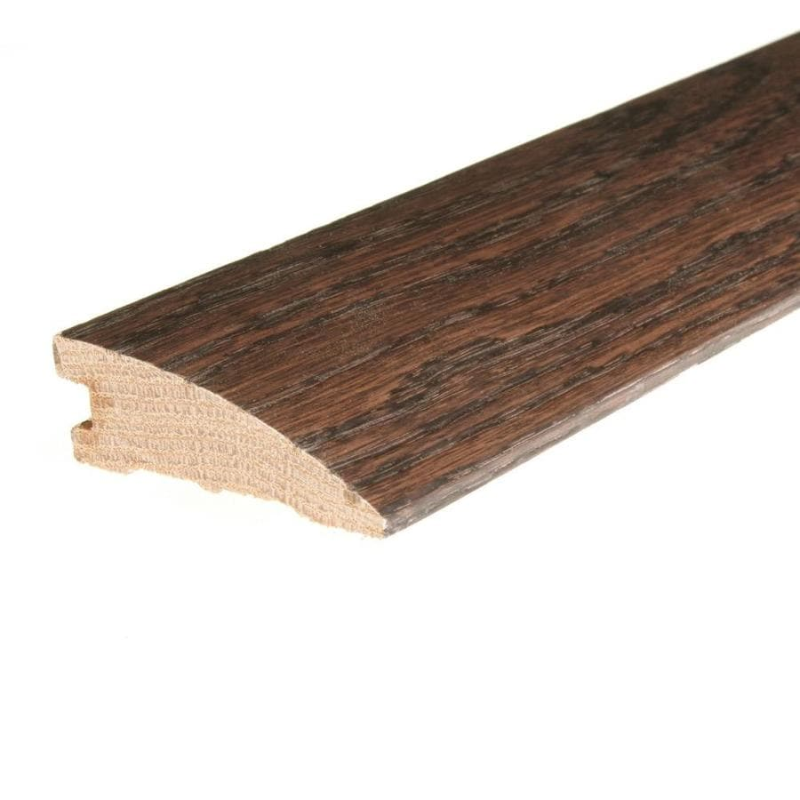 FLEXCO 2.25-in x 78-in Chocolate Oak Reducer Floor Moulding