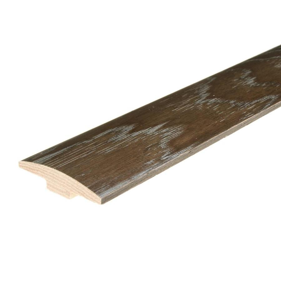 FLEXCO 2-in x 78-in Iron Grove Hickory T-Moulding Floor Moulding