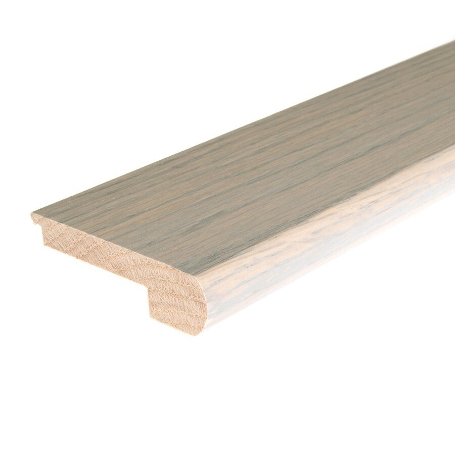 FLEXCO 3.12-in x 78-in Driftwood Oak Stair Nose Floor Moulding