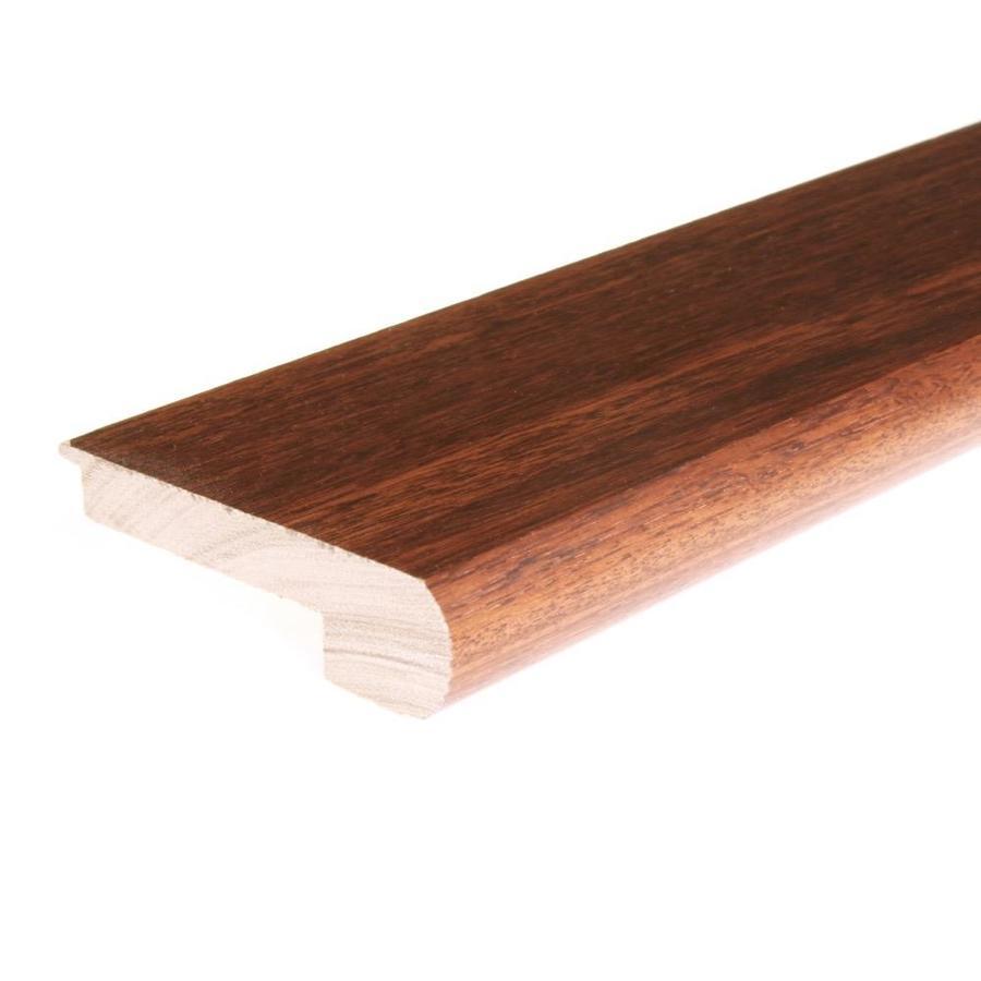FLEXCO 2.75-in x 78-in Natural Cumaru Stair Nose Floor Moulding