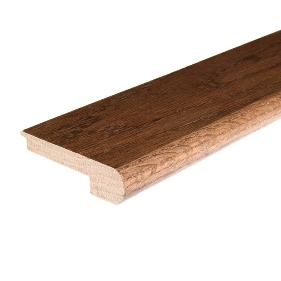 FLEXCO 2.75-in x 78-in Saddle Oak Stair Nose Floor Moulding