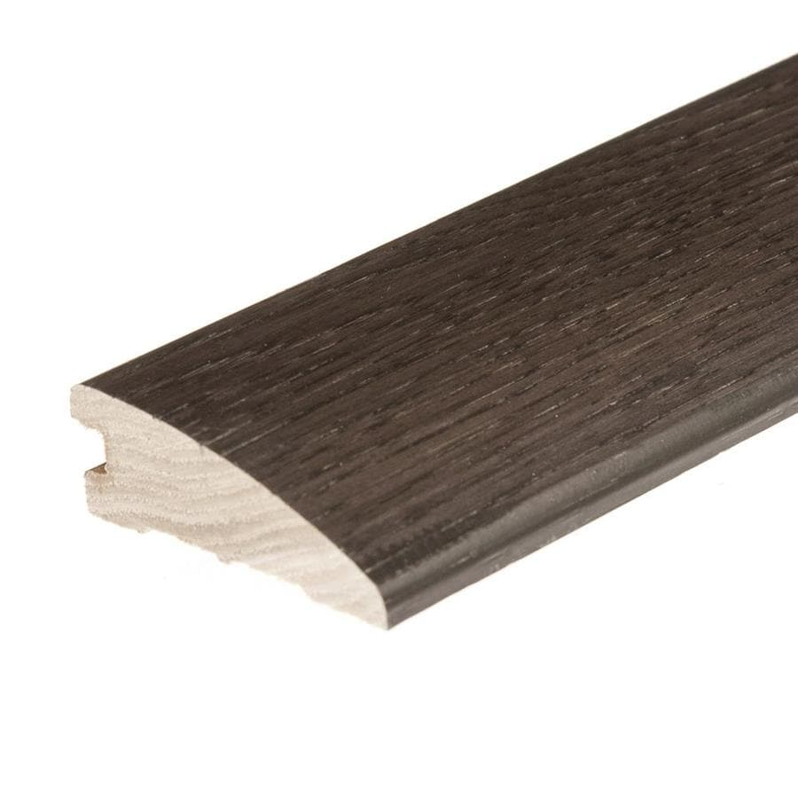 FLEXCO 2.25-in x 78-in Wrought Iron Hickory Reducer Floor Moulding