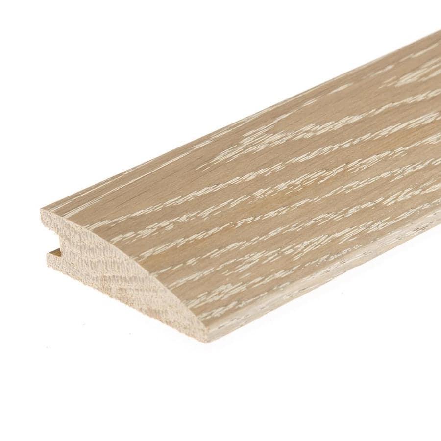 FLEXCO 2-in x 78-in Mount Castle Seashell White Oak Reducer Floor Moulding