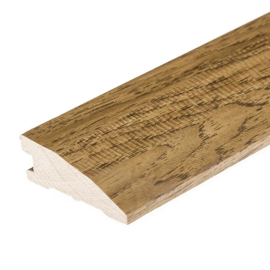 FLEXCO 2.25-in x 78-in Castel Hickory Reducer Floor Moulding