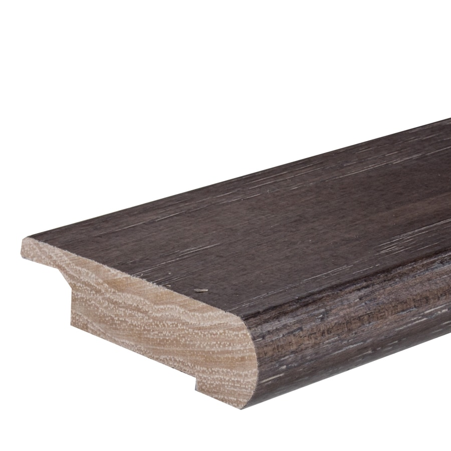 FLEXCO 2.75-in x 78-in Smokeyfield Hickory Stair Nose Floor Moulding