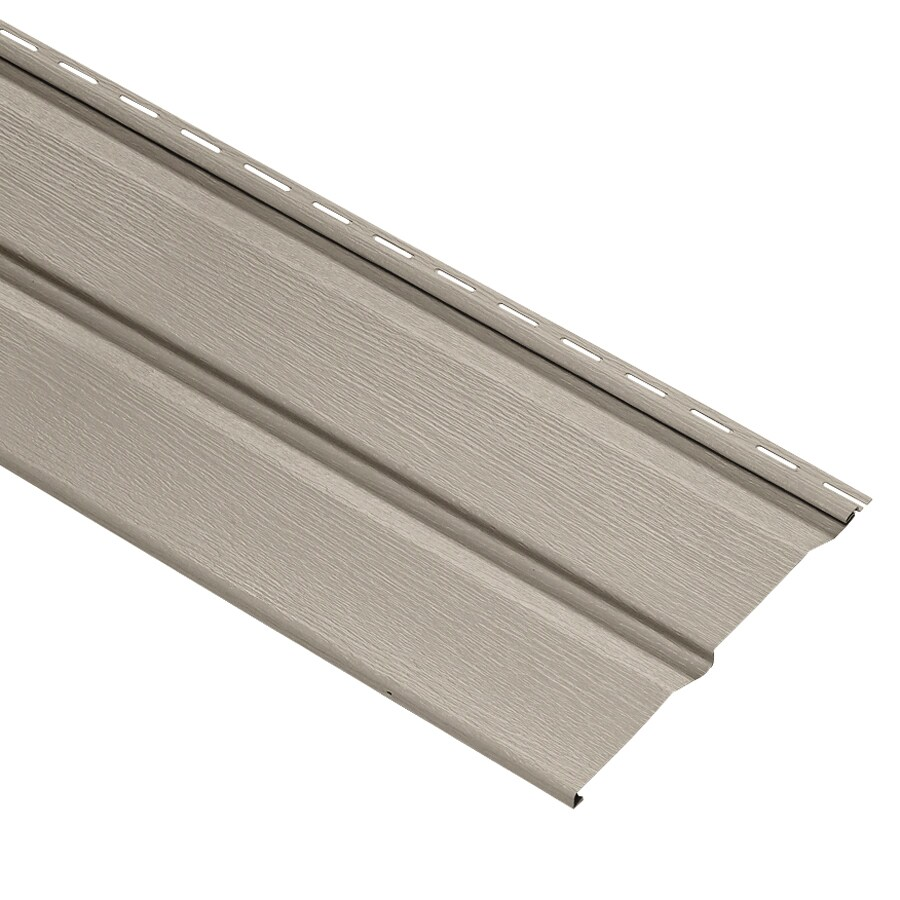 Durabuilt 20-Pack 11.032-in x 144-in Stone Clay Dutch Lap Vinyl Siding Panels