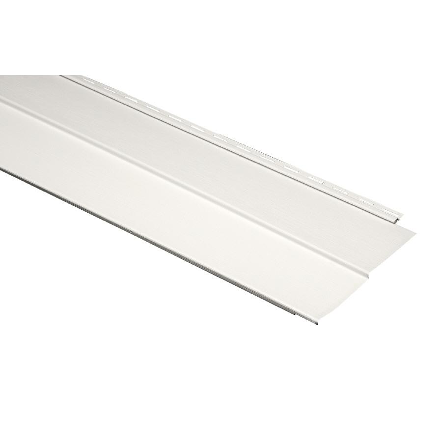 Durabuilt Traditional Stone Clay Vinyl Siding Panel 11.23-in x 144-in