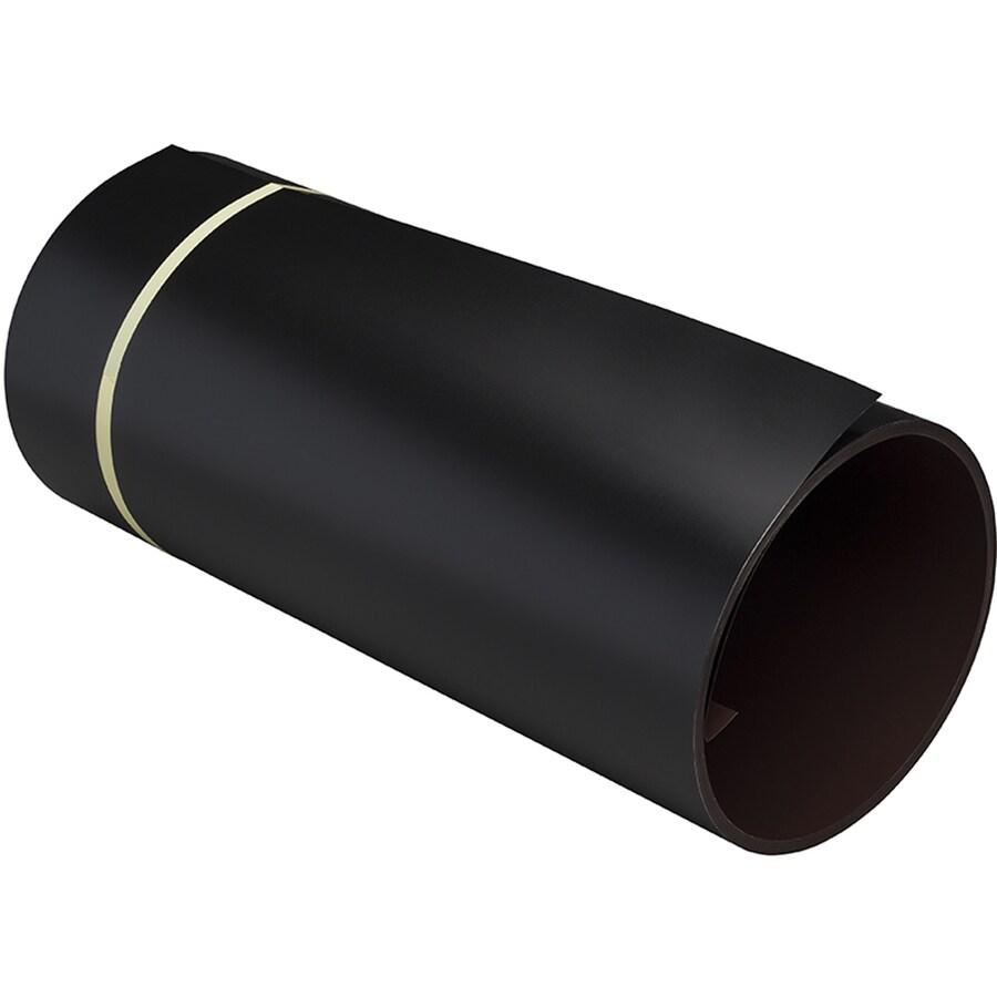 NAPCO 100 24-in x 600-in Black/Royal Brown Trim Coil Metal Siding Trim