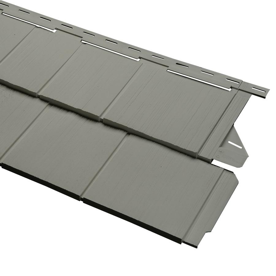 Durabuilt Shake Woodgrain Sagebrook Vinyl Siding Panel 54.25-in x 15.5-in