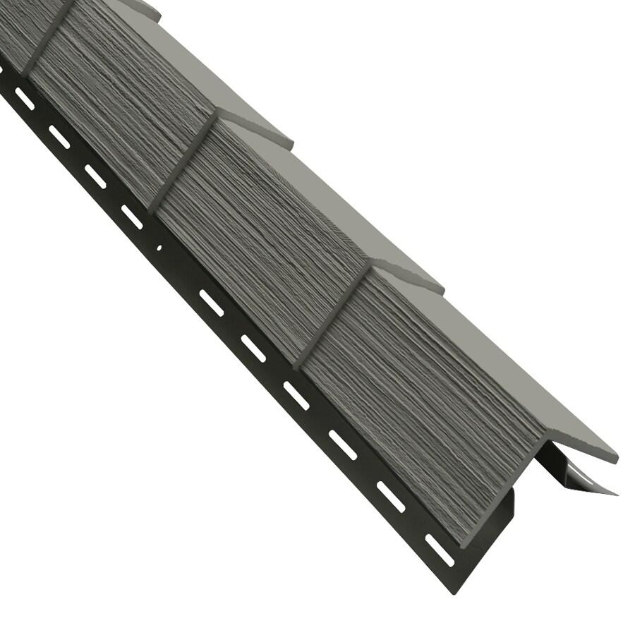 Durabuilt Shake Woodgrain Sagebrook Vinyl Siding Panel 5-in x 28.125-in