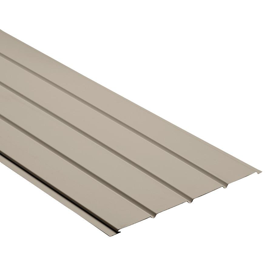 Durabuilt 16-in x 144-in 140 Clay Aluminum Solid Soffit