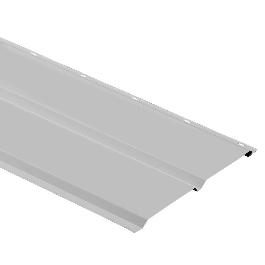 Durabuilt 12-in x 144-in 160 Gray Aluminum Solid Soffit