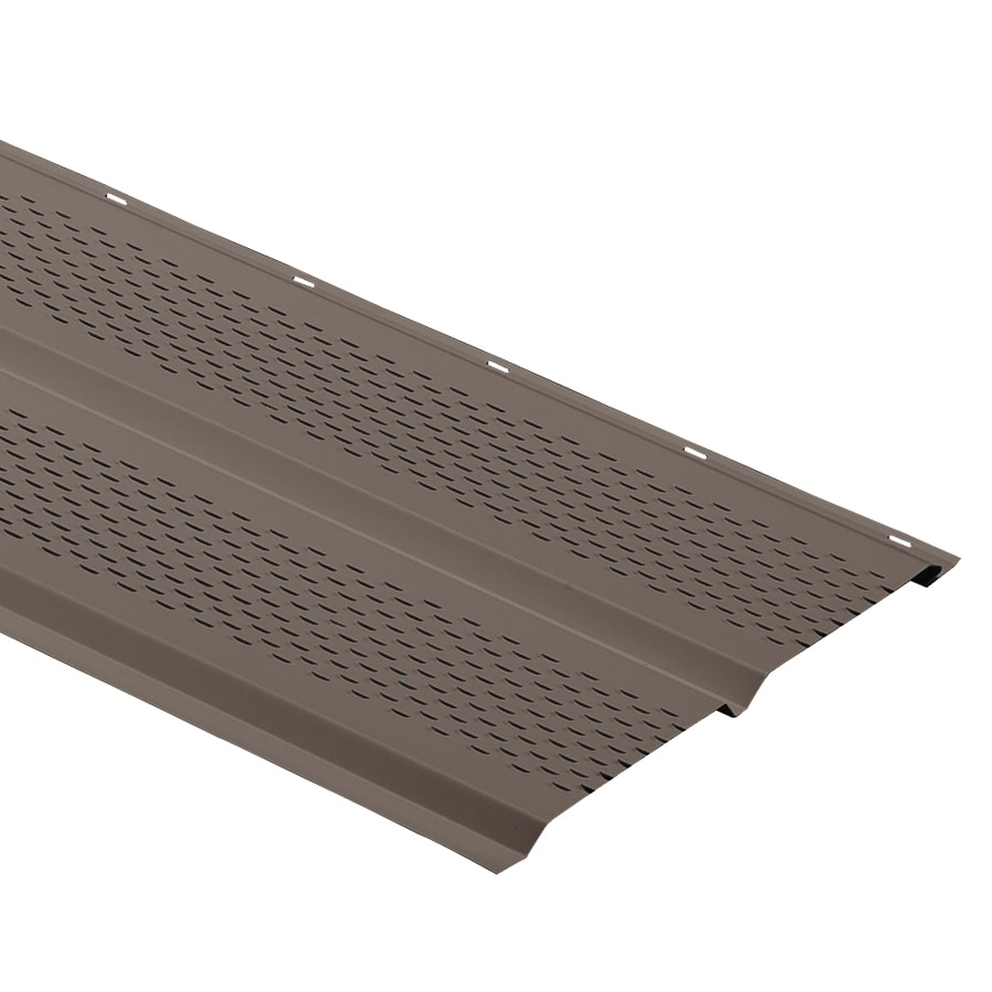 Durabuilt 12-in x 144-in Musket Brown Soffit