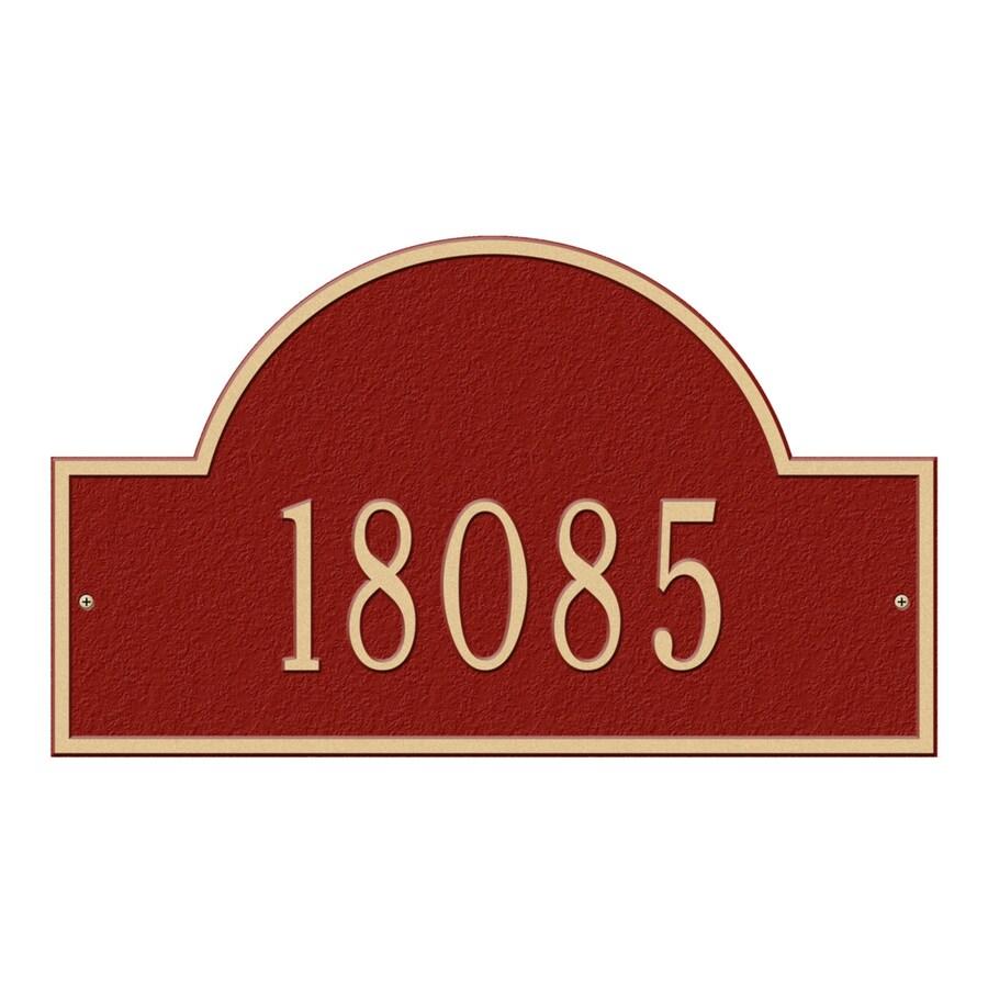 Whitehall Standard Arch Marker Red