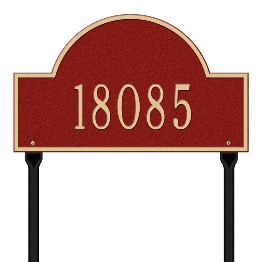 Whitehall 15-in House Number
