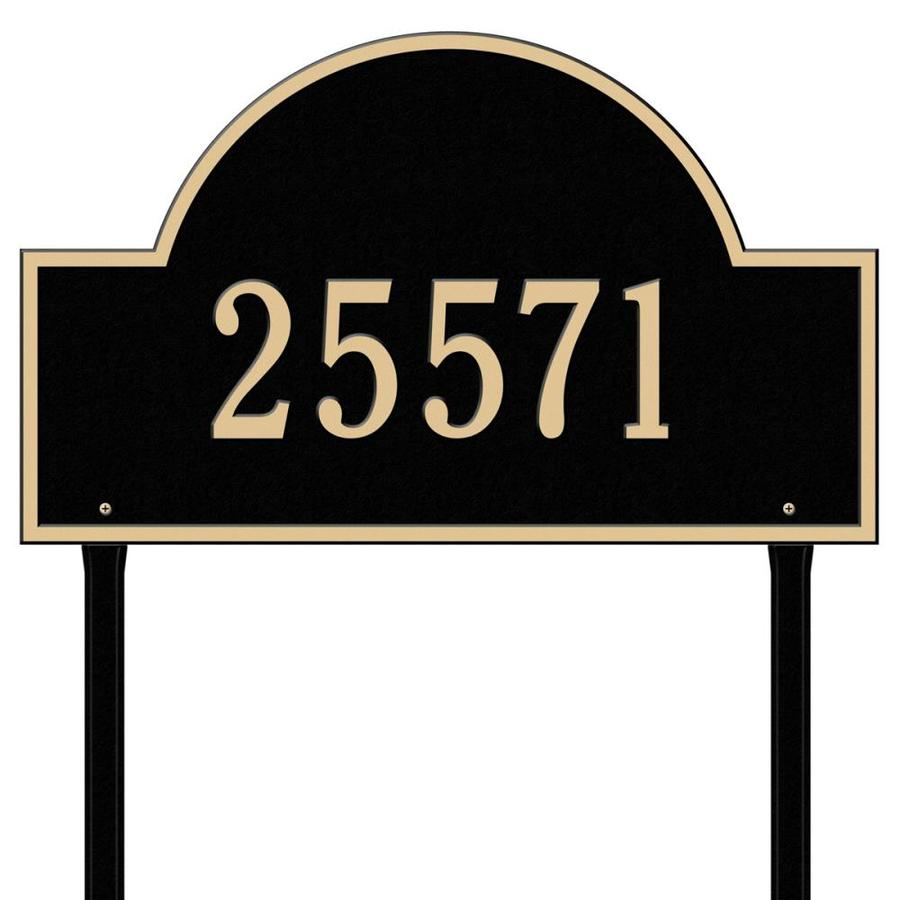 Whitehall Estate Arch Marker Black/Gold