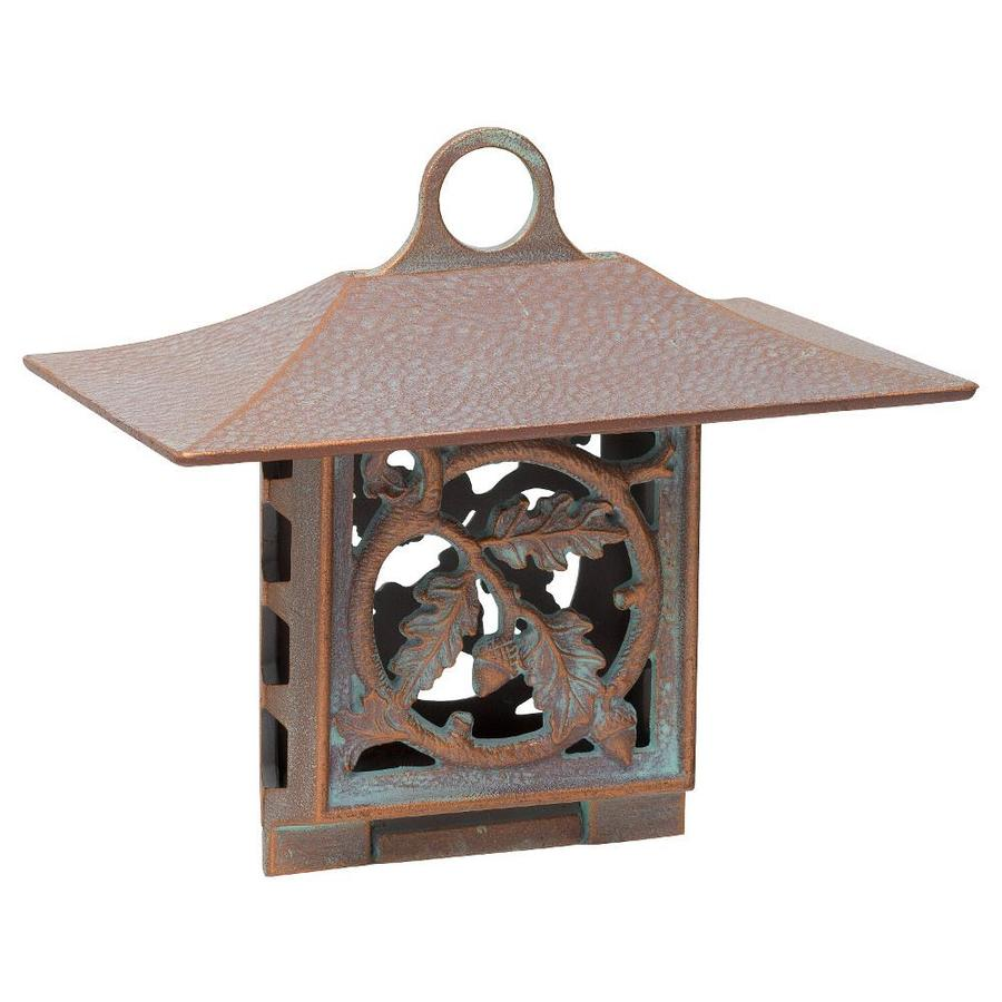 Whitehall Copper Verdi One-Cake Metal Suet Feeder