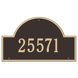 6d657ca0f8c Whitehall 24-in Aged Bronze House Number