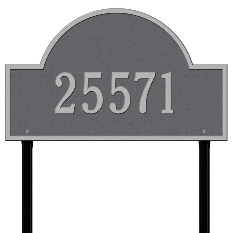 Whitehall 24-in Pewter House Number