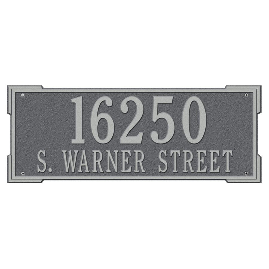 Whitehall 9-in x 23.5-in Plaque