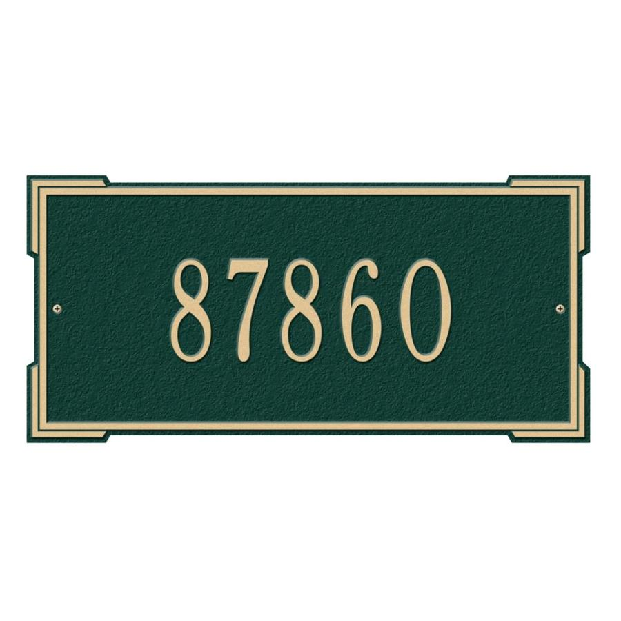Whitehall 7.88-in x 16.63-in Plaque