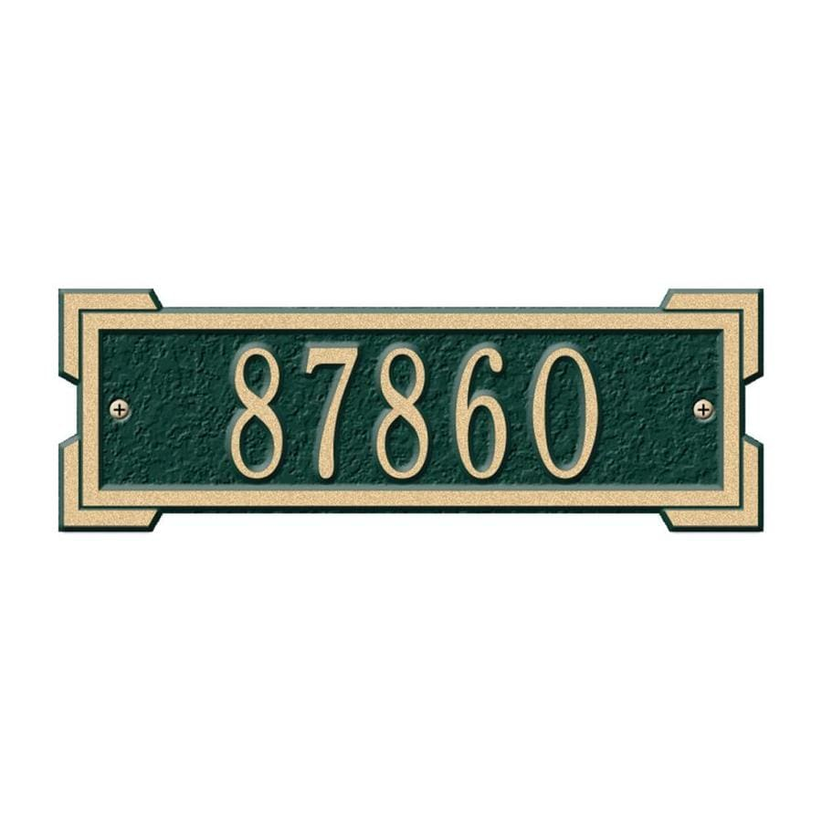 Whitehall 3.125-in x 9.125-in Plaque