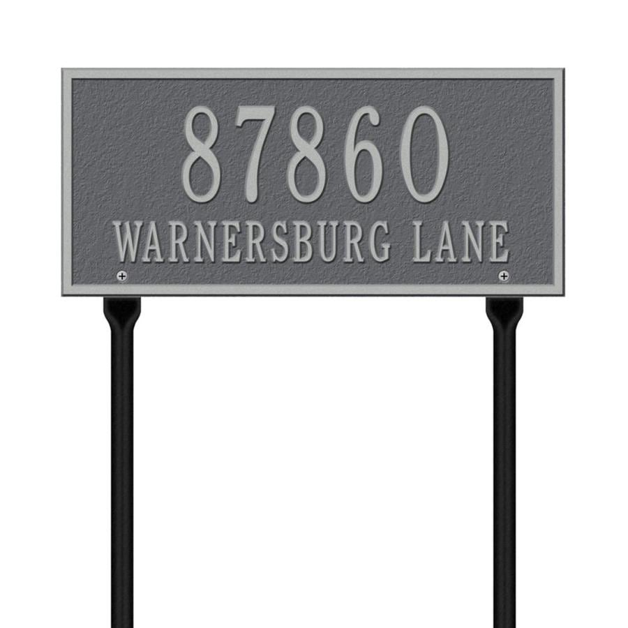 Whitehall 7.25-in x 16-in Plaque