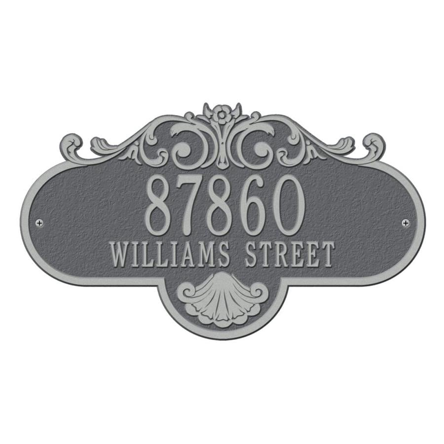 Whitehall 10.25-in Pewter House Number