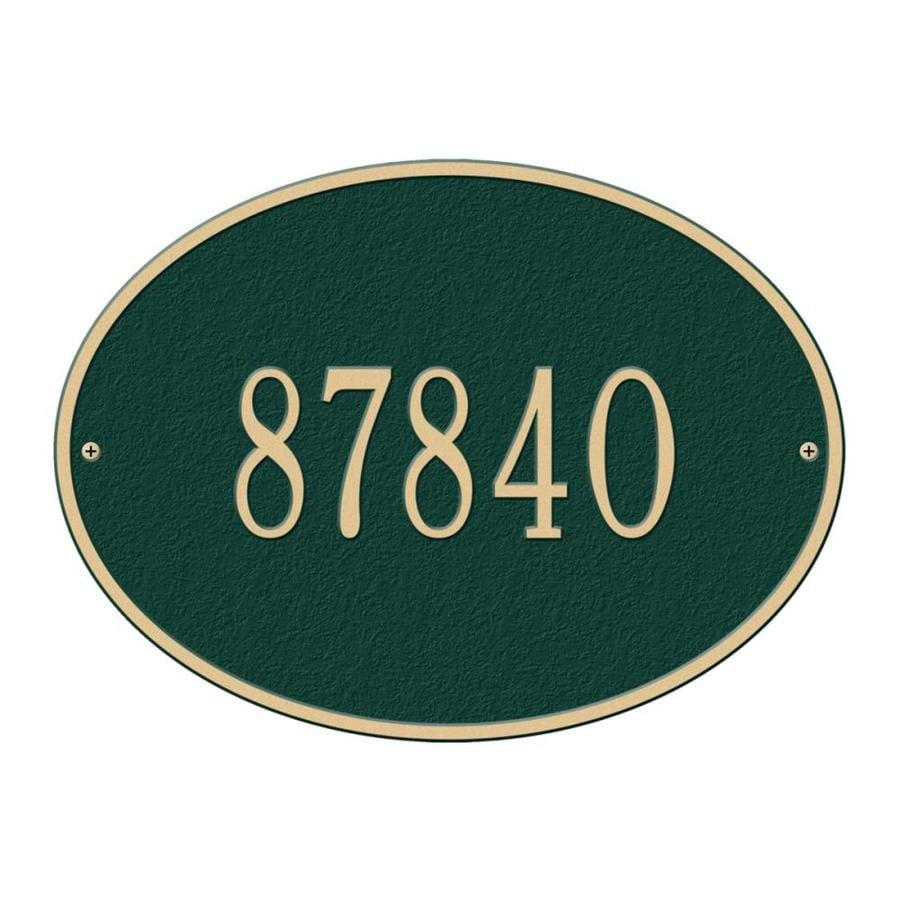 Whitehall 10.25-in x 14.25-in Plaque