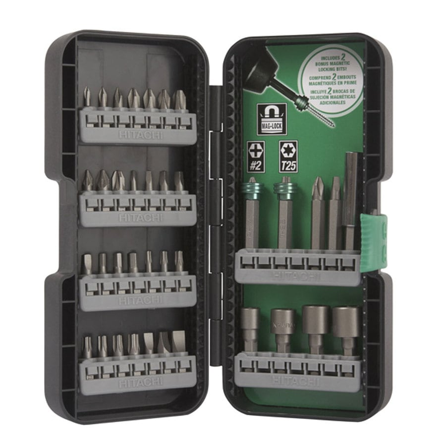 Hitachi Screwdriver Bit Set