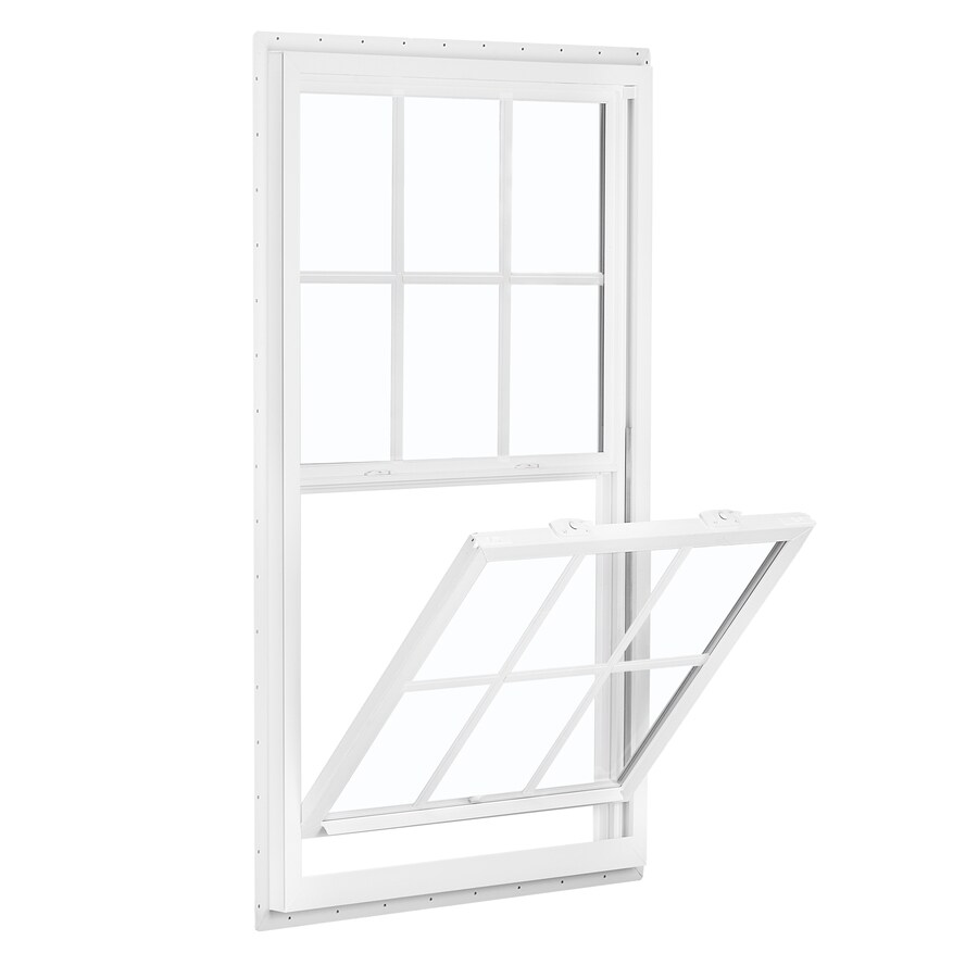 ReliaBilt 150 Series Vinyl Double Pane Single Strength Egress Single Hung Window (Rough Opening: 36-in x 62-in; Actual: 35.5-in x 61.5-in)