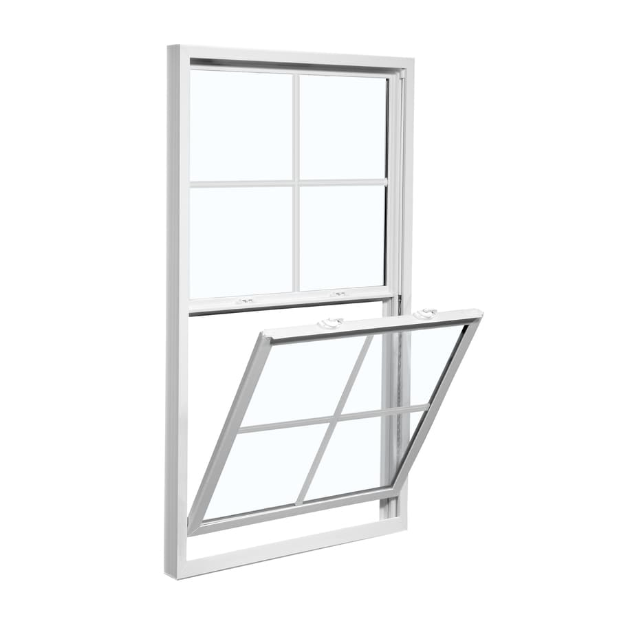 ReliaBilt 3100 Vinyl Double Pane Single Strength Replacement Single Hung Window (Rough Opening: 24-in x 36-in; Actual: 23.5-in x 35.75-in)