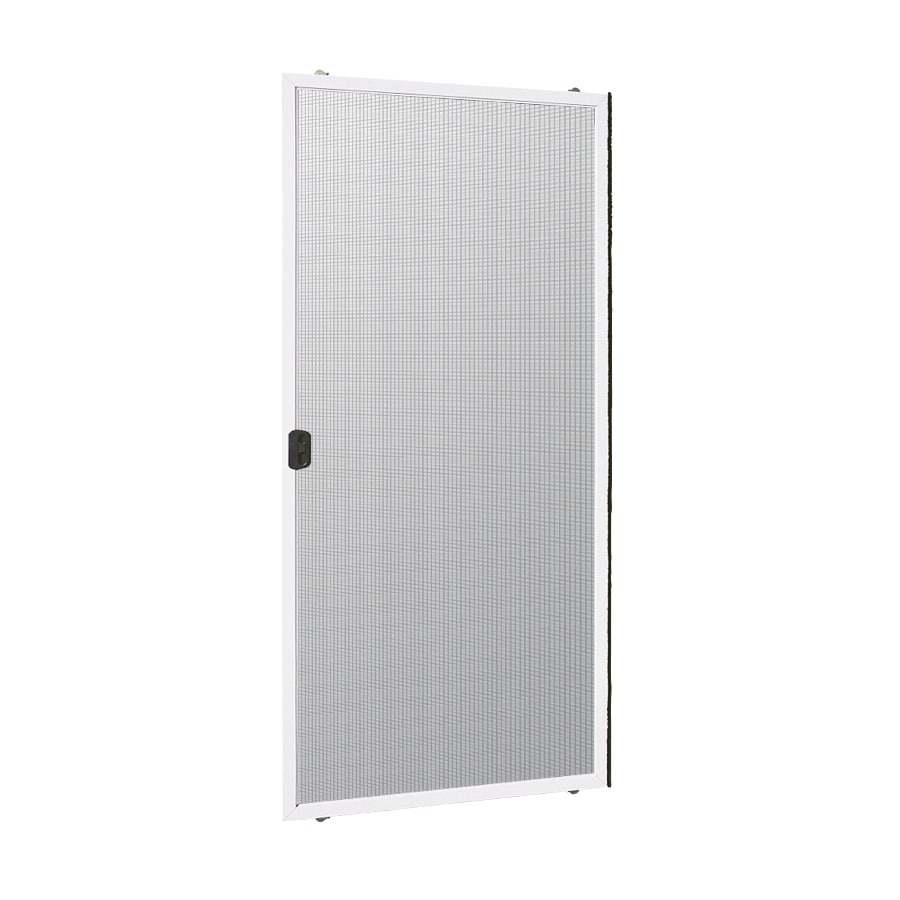 ReliaBilt White Vinyl Sliding Screen Door (Actual: 60-in x 80-in)