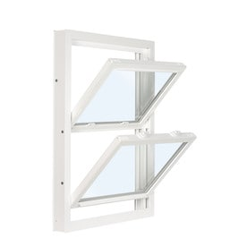 Reliabilt 3201 Vinyl Replacement White Exterior Double Hung Window Rough Opening 32 In