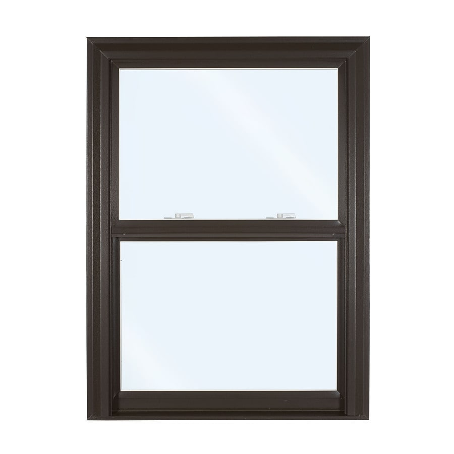 ReliaBilt 3500 Series Vinyl Double Pane Single Strength Replacement Double Hung Window (Rough Opening: 32-in x 53.75-in; Actual: 31.75-in x 53.5-in)