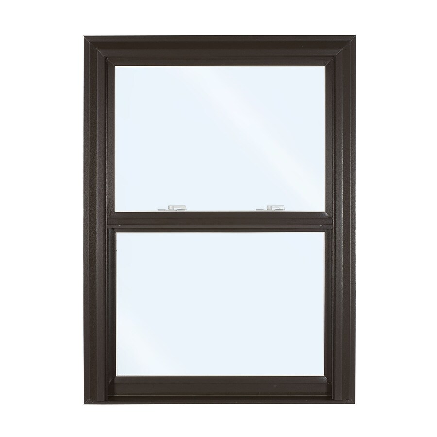 ReliaBilt 3500 Vinyl Double Pane Single Strength Replacement Double Hung Window (Rough Opening: 32-in x 53.75-in; Actual: 31.75-in x 53.5-in)