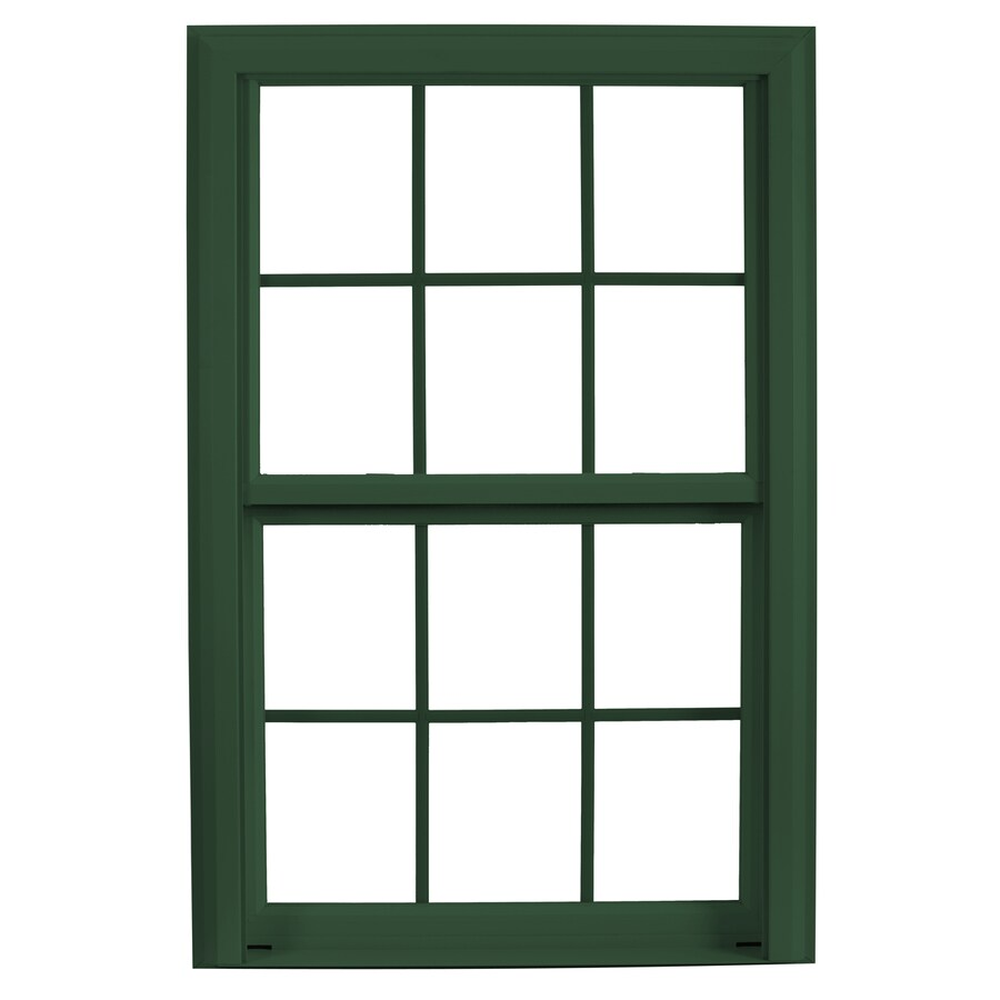 ReliaBilt 3900 Vinyl Triple Pane Single Strength Replacement Double Hung Window (Rough Opening: 36-in x 37.75-in; Actual: 35.75-in x 37.5-in)