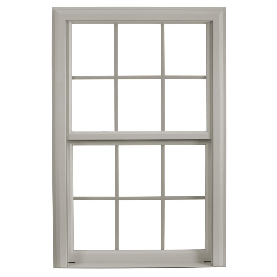Shop reliabilt 3900 vinyl triple pane single strength for Double hung replacement windows reviews