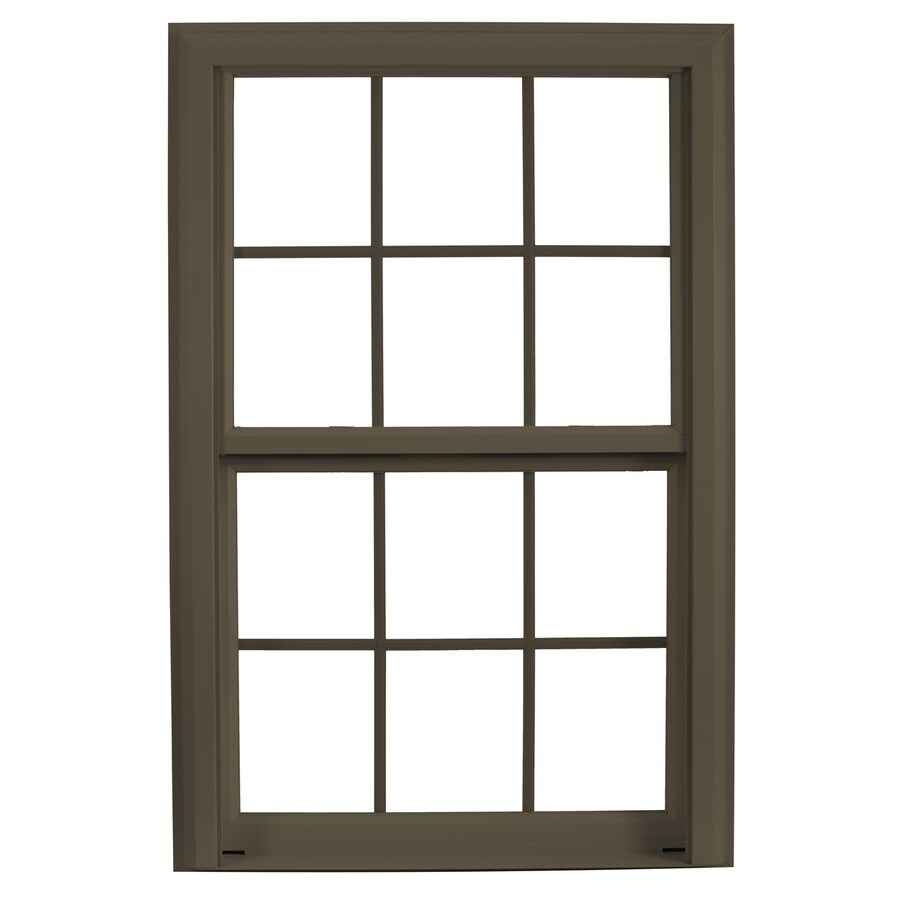 ReliaBilt 3900 Vinyl Double Pane Single Strength Replacement Double Hung Window (Rough Opening: 32-in x 45.5-in; Actual: 31.75-in x 45.25-in)