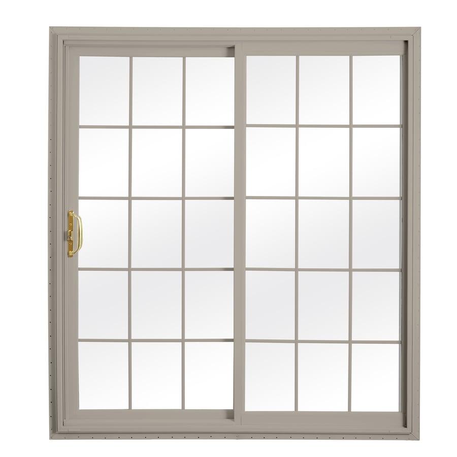 Shop reliabilt x 79 5 in grilles between the for 70 inch sliding glass door