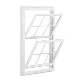 new construction windows lowes sliding window reliabilt 455 vinyl new construction white exterior double hung window rough opening 32 shop windows at lowescom
