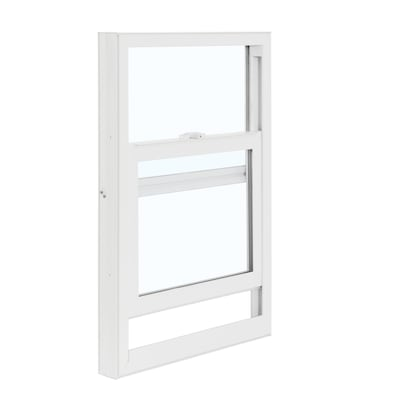 3050 Vinyl Replacement White Exterior Single Hung Window Rough Opening 28 In X 54 Actual 27 5 53 75